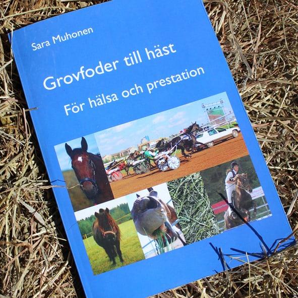 Boken Grovfoder till häst - för hälsa och prestation