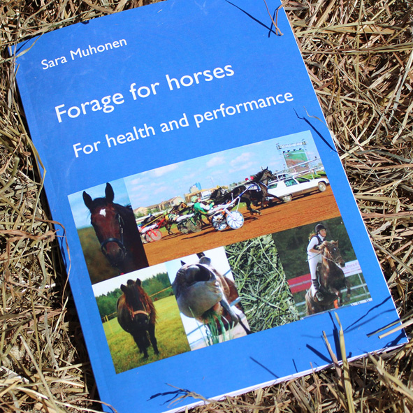 The book Forage for horses - for health and performance